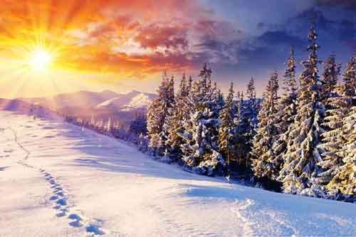 انشا زیبایی های فصل زمستان